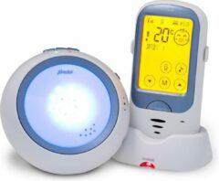 Blauwe Alecto DBX-62 digitale eco babyfoon met projector en groot bereik
