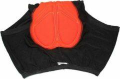 Oranje Falkann Fiets onderbroek met zeem - unisex-2XL