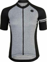 AGU Melange Fietsshirt Essential Dames Fietsshirt - Maat XL - Zwart