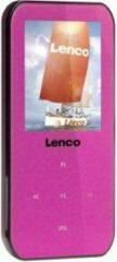Lenco Xemio-655 MP3-speler, MP4-speler 4 GB Roze Spraakopname