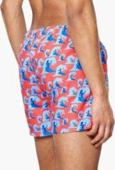 Blauwe Happy Socks Wave Swim Shorts
