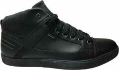 Geox veter lederen hoge sneakers Taiki zwart antracite mt 46
