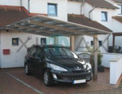 Ximax Linea 170 Carport Edelstahl-Look