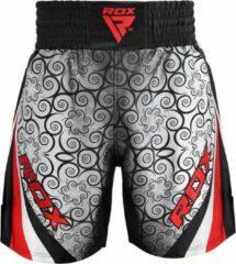 RDX Sports RDX BSS Boxing Training Shorts Satin R1 - Rood - L