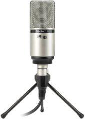 IK Multimedia iRig Mic Studio XLR Studiomicrofoon Zendmethode:Kabelgebonden Incl. kabel, Incl. klem, Incl. standaard