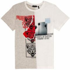 Beige Kleding T-shirt MC XQ10063 by IKKS JUNIOR