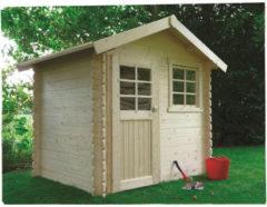 Solid tuinhuis 'Laval' geïmpregneerd hout 3,74 m²
