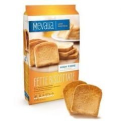 Mevalia Fette Biscottate fette di pane biscottato aproteico 3x70g