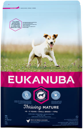 Afbeelding van Eukanuba Dog Mature & Senior - Small Breed - Kip - Hondenvoer - 3 kg