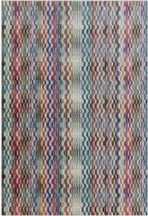 Eazy Living Easy Living - Skye-Wave-Multi Vloerkleed - 200x300 cm - Rechthoekig - Laagpolig Tapijt - Retro - Meerkleurig