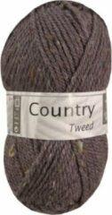 Cheval Blanc Country Tweed wol en acryl garen - bruin (027) - pendikte 4 a 4,5 mm - 1 bol van 50 gram