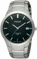 Zilveren Pulsar horloge PS9013X1