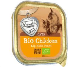 Renske Kat Bio Alu 85 g - Kattenvoer - Kip Graanvrij - Kattenvoer