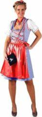 Rode Merkloos / Sans marque Dirndl jurk (grote maten) Sonja