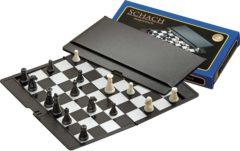 Philos schaakset - reis etui - magnetisch - 170 x 100 x 10mm