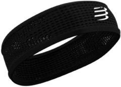 Zwarte Compressport Thin Headband On/Off - Hoofdbanden