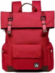 YLX travel gear YLX Original Backpack 2.0. Baksteen rood. Recycled Rpet materiaal. Eco-friendly