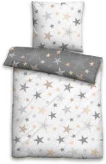Bettwäsche, Biberna, »Lina«, mit Sternen
