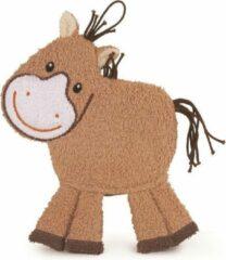 Bruine Egmont Toys Babywashandje Paard