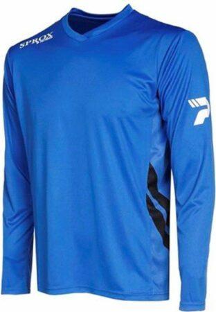Afbeelding van Patrick Sprox Voetbalshirt Lange Mouw - Royal   Maat: XL