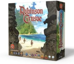 Asmodee Robinson Crusoe Adventures on the Cursed Island - Engelstalig Bordspel