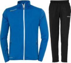 Uhlsport Essential Classic Trainingspak - Maat 164 - Unisex - blauw/zwart
