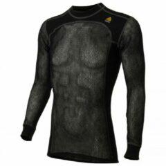 Zwarte Aclima - WN Crew Neck - Merino ondergoed maat XS zwart