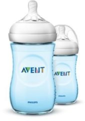 Blauwe Philips Avent SCF035/27 - Natural babyfles