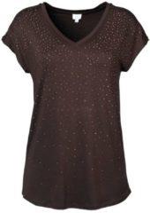 Strandshirt Alba Moda braun