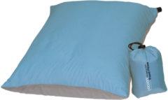 Cocoon - Air Core Pillow Ultralight - Kussen maat 35 x 45 cm blauw/grijs