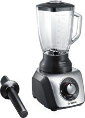 Roestvrijstalen Bosch MMB65G5M - SilentMixx - Blender - Zwart RVS