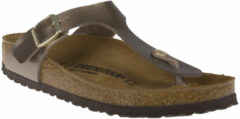 Taupe Birkenstock Gizeh antraciet