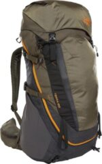 Groene The North Face Terra 55 Backpack Unisex - Maat S/M - TNF Dark Grey Heather / New Taupe Green