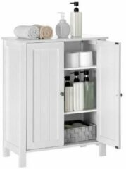 Witte MIRA Home - Opbergkast met deuren - Badkamer - Badkamerkastje - 30x60x80