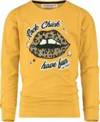 Gele Vingino T-shirt Jessica Meisjes T-shirt Maat 104