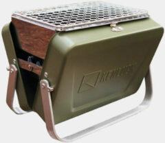 Groene Kenluck - Mini Grill - Compacte barbecue - Oliver green