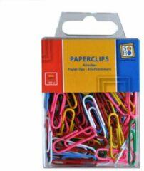 Soho Paperclips Gekleurd 28 X 8 Mm Staal 100 Stuks