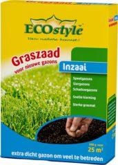 ECOstyle Graszaad-Inzaai - 500 g - voor het inzaaien van een nieuw gazon - voor 25 m2