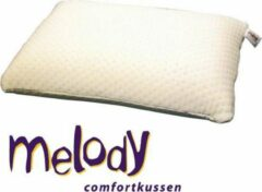 Witte Mahoton Comfortkussen Melody - 12 cm - Soft - 40x60 cm