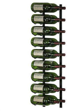 Afbeelding van Zwarte VintageView Wijnrek Magnum 18 flessen Satin Black