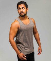 Marrald Black Series Tanktop | Beige Bruin - S heren sportshirt fitness