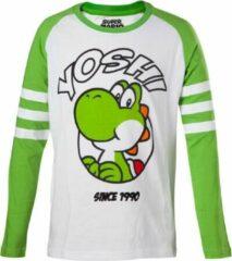 Groene Nintendo - Yoshi Kids Longsleeve Shirt - 98/104