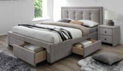 Home Style Tweepersoonsbed Evora 160x200cm in beige