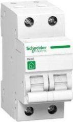 Groene Schneider automaat 2 polig 16A - 3kA/C