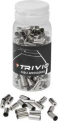 Zilveren Trivio - Ferrule - 0.5mm - Messing - 200 st.