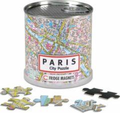 Craenen/Extragoods City Puzzle Parijs - Puzzel - Magnetisch - 100 puzzelstukjes
