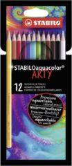 Kleurpotloden STABILO aquacolor 1612-1-20 etui à 12 stuks