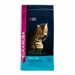 Eukanuba Kat Top Condition 7+ Senior Kip - Lever 10 kg