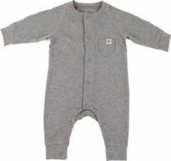 Cloby - UV-werende romper voor baby's - Steengrijs - maat 50-56cm