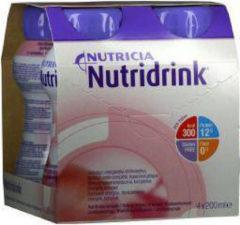 Nutricia Nutridrink Aardbei 4 x 200 ml